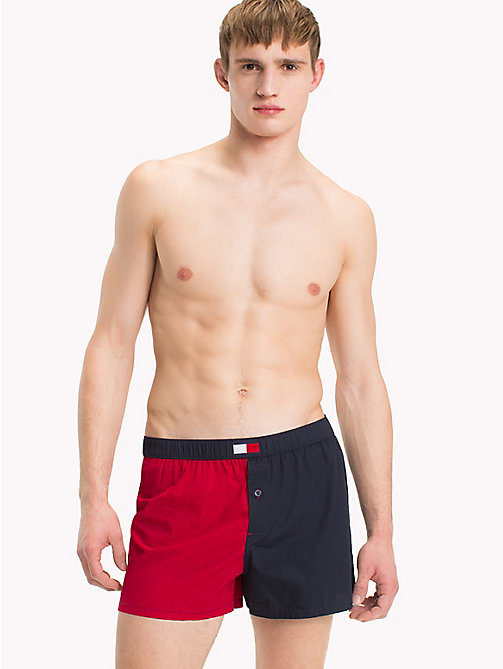 TOMMY HILFIGER Colour-blocked boxershort - SCOOTER - TOMMY HILFIGER Pyjama's & Lounge - main image