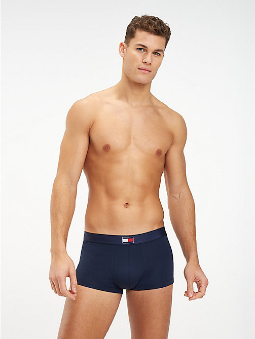 TOMMY HILFIGER Low Rise Flag Trunks - NAVY BLAZER - TOMMY HILFIGER Trunks - main image