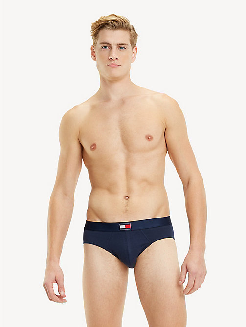 TOMMY HILFIGER Flag Waist Briefs - NAVY BLAZER - TOMMY HILFIGER Briefs - main image