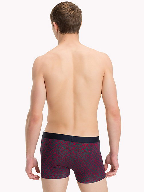 TOMMY HILFIGER Heart Print Trunks - TANGO RED - TOMMY HILFIGER Trunks - detail image 1