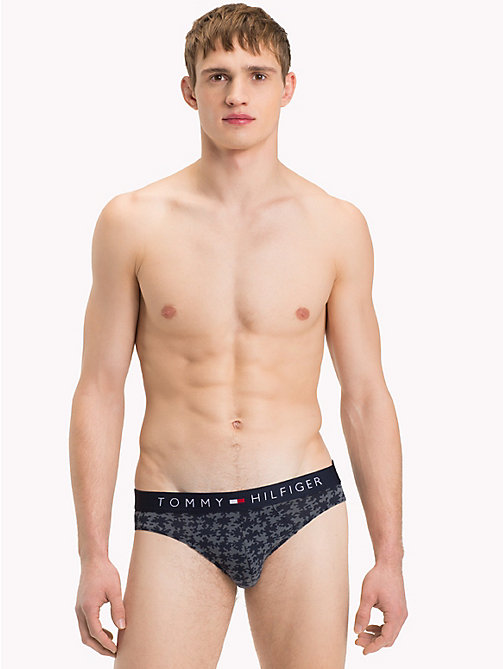 TOMMY HILFIGER 3-Pack Tommy Hilfiger Waistband Briefs - NAVY BLAZER/ BLUE HEAVEN/ IRON GATE - TOMMY HILFIGER Packs - detail image 1