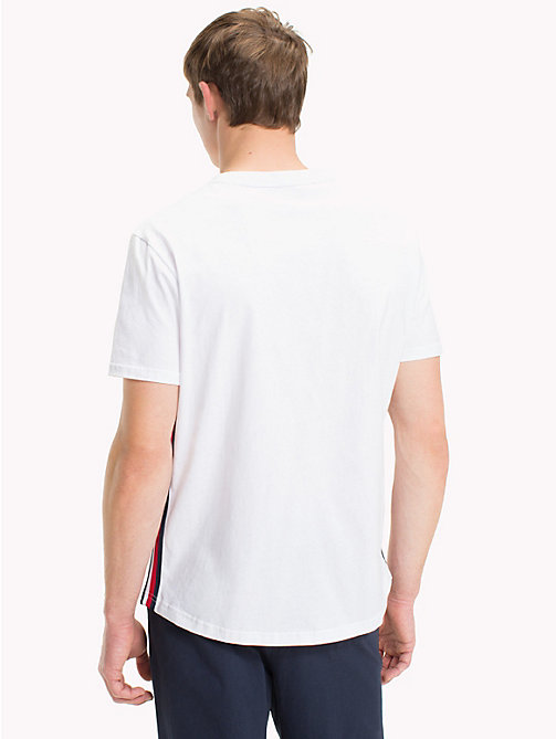 TOMMY HILFIGER T-shirt en coton bio - WHITE - TOMMY HILFIGER Sustainable Evolution - image détaillée 1