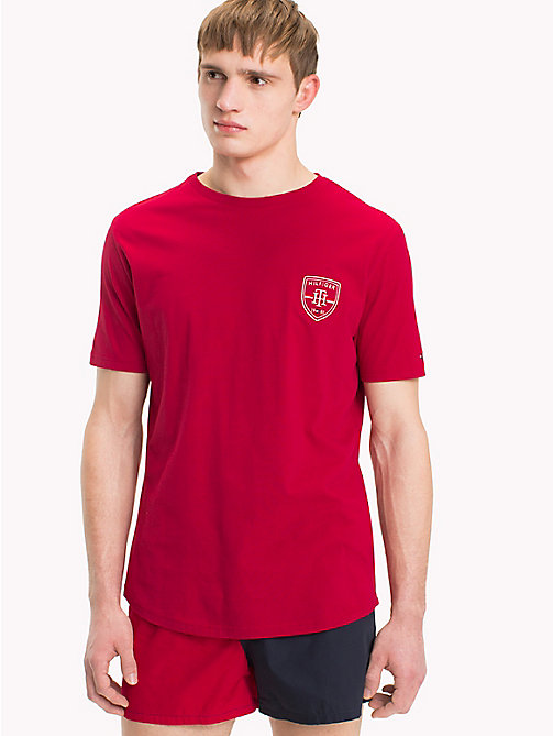 TOMMY HILFIGER T-shirt con logo stemma - SCOOTER - TOMMY HILFIGER Pigiami E Loungewear - immagine principale