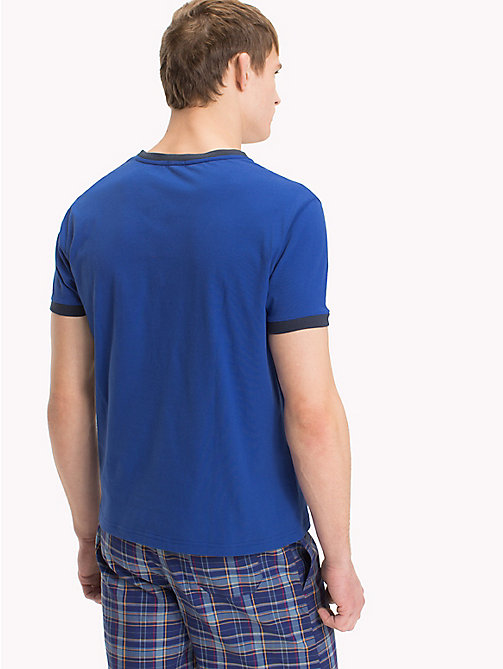 TOMMY HILFIGER T-shirt con logo Tommy Hilfiger - MAZARINE BLUE - TOMMY HILFIGER Sustainable Evolution - dettaglio immagine 1