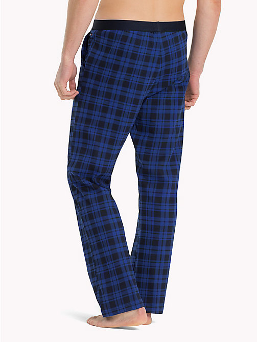 TOMMY HILFIGER Check Jersey Pyjama Bottoms - NAVY BLAZER - TOMMY HILFIGER Pyjama Bottoms - detail image 1