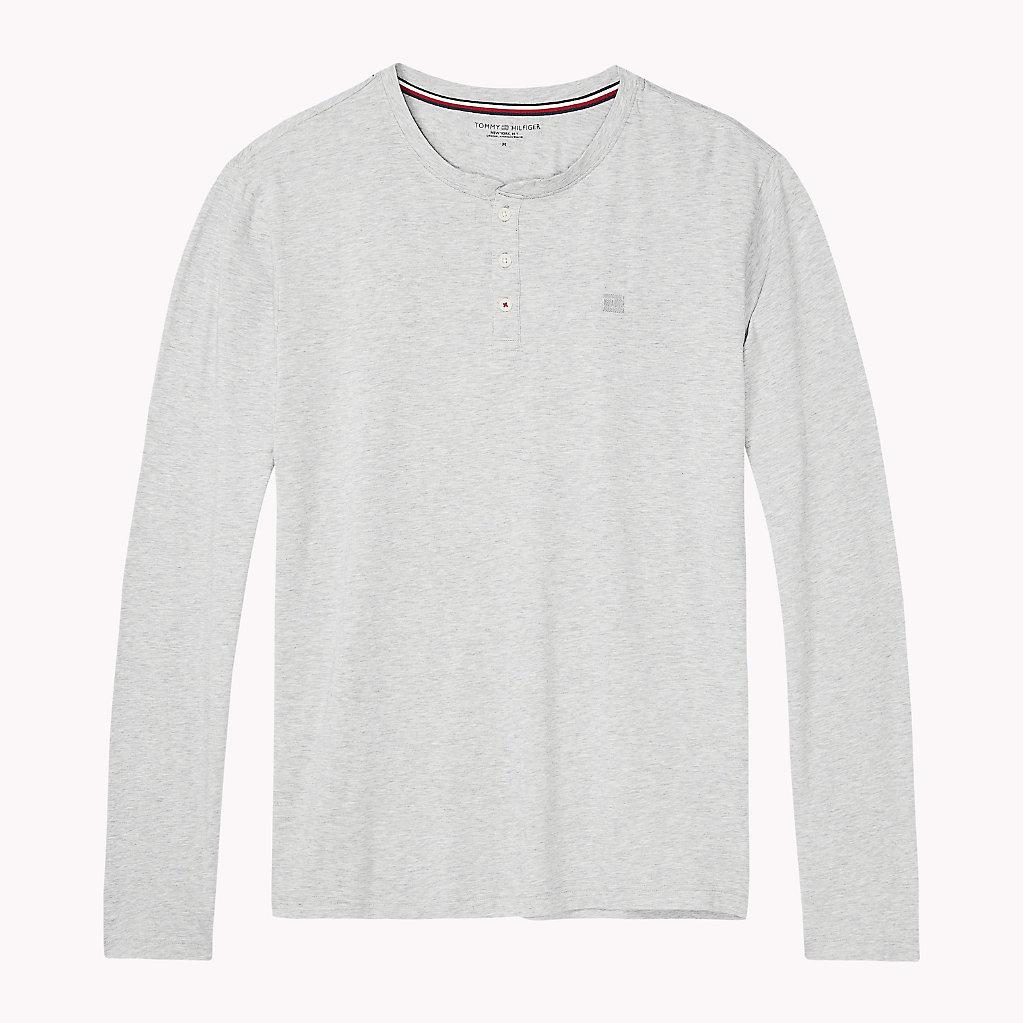 Tommy Hilfiger - Camiseta de cuello panadero de manga larga - 4