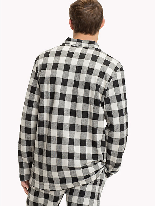 TOMMY HILFIGER Gingham Check Shirt - BLACK/BLACK - TOMMY HILFIGER Underwear & Swimwear - detail image 1