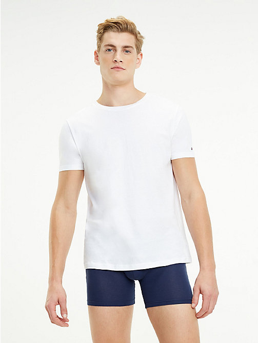 TOMMY HILFIGER Set van 2 katoenen T-shirts - WHITE - TOMMY HILFIGER Packs - detail image 1