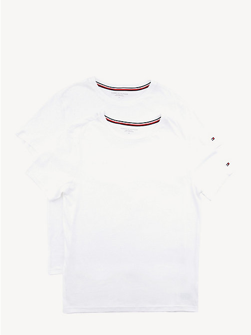 TOMMY HILFIGER Set van 2 katoenen T-shirts - WHITE - TOMMY HILFIGER Packs - main image