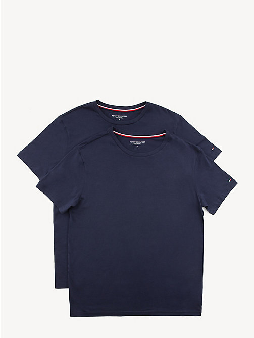 TOMMY HILFIGER Set van 2 katoenen T-shirts - PEACOAT - TOMMY HILFIGER Packs - main image