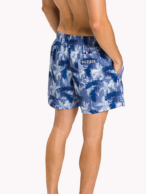 TOMMY HILFIGER Hibiscus Swim Shorts - Big & Tall - CORE PALM PRINT - TOMMY HILFIGER Big & Tall - detail image 1
