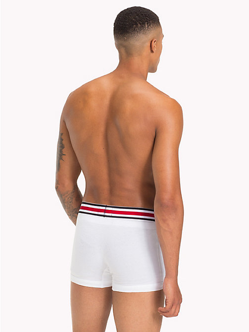 TOMMY HILFIGER Lewis Hamilton Trunks - BRIGHT WHITE - TOMMY HILFIGER TOMMY NOW MEN - detail image 1