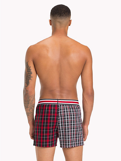 TOMMY HILFIGER Lewis Hamilton Plaid Check Boxers - SKY CAPTAIN - TOMMY HILFIGER TOMMY NOW MEN - detail image 1
