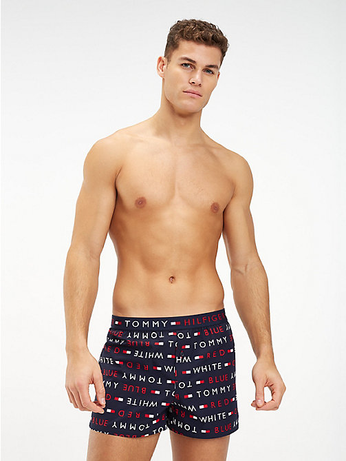 a133868101 TOMMY HILFIGERBoxer short in cotone biologico