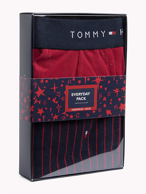 TOMMY HILFIGER Cotton Boxers and Socks Pack - SCOOTER - TOMMY HILFIGER Underwear & Swimwear - main image