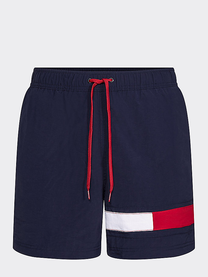 f37986cd61ab3 Colour-Blocked Flag Medium Swim Shorts | Tommy Hilfiger