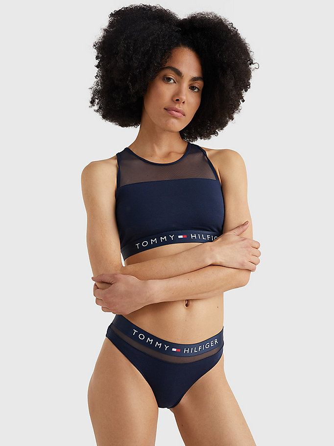 TOMMY HILFIGER Hilfiger Bikini Brief - BLUE DEPTHS - TOMMY HILFIGER Women - detail image 1