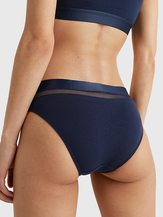 TOMMY HILFIGER Hilfiger Bikini Brief - BLUE DEPTHS - TOMMY HILFIGER Women - detail image 2