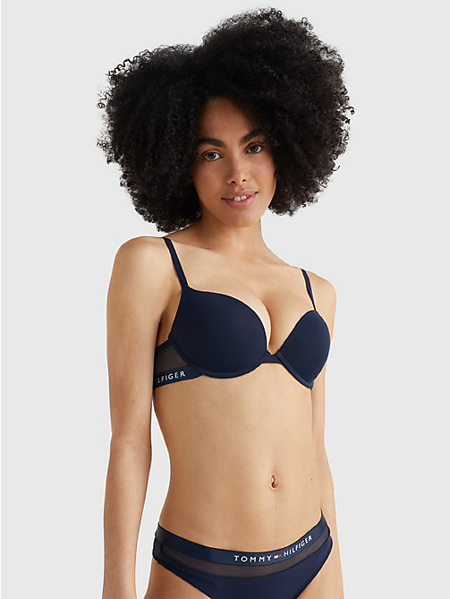 TOMMY HILFIGER Reggiseno push up regular fit - NAVY BLAZER - TOMMY HILFIGER Lingerie - immagine principale
