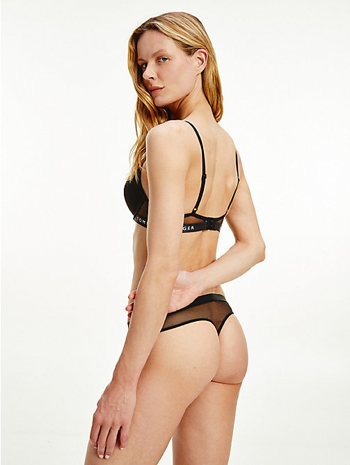 TOMMY HILFIGER Push-up-BH - BLACK - TOMMY HILFIGER Lingerie - main image 1