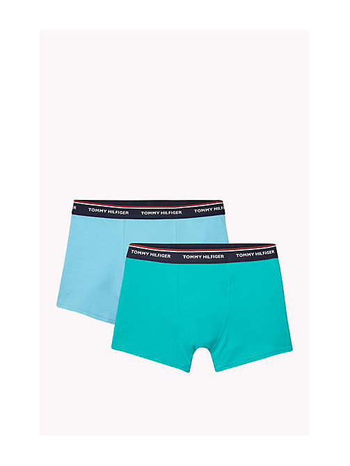 TOMMY HILFIGER Katoenen 2-pack shorts - BACHELOR BUTTON / COLUMBIA - TOMMY HILFIGER 2-pack - main image