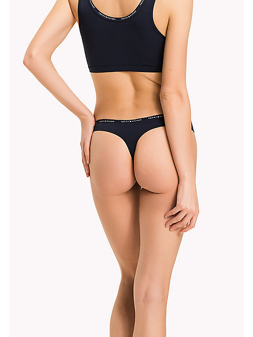 TOMMY HILFIGER THONG - NAVY BLAZER - TOMMY HILFIGER Knickers - detail image 1