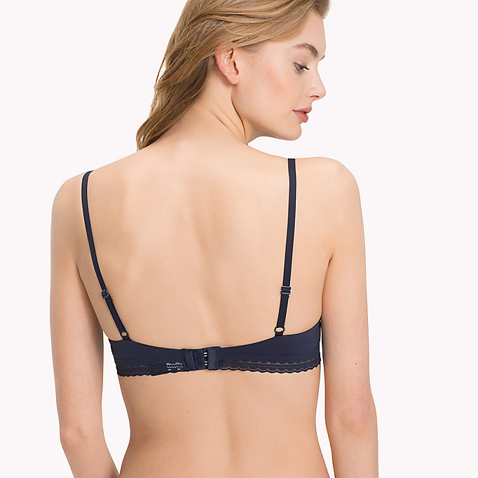 TOMMY HILFIGER Microfibre Regular Fit Push-Up Bra - NUDE - TOMMY HILFIGER Women - detail image 1