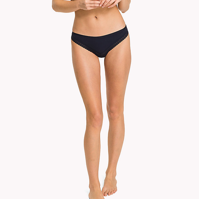TOMMY HILFIGER Regular Fit Brazilian Knickers - NUDE - TOMMY HILFIGER Women - main image