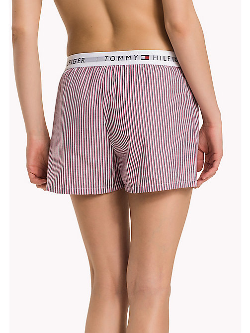 TOMMY HILFIGER WOVEN BOXER - WHITE - TOMMY HILFIGER Lounge & Nightwear - detail image 1