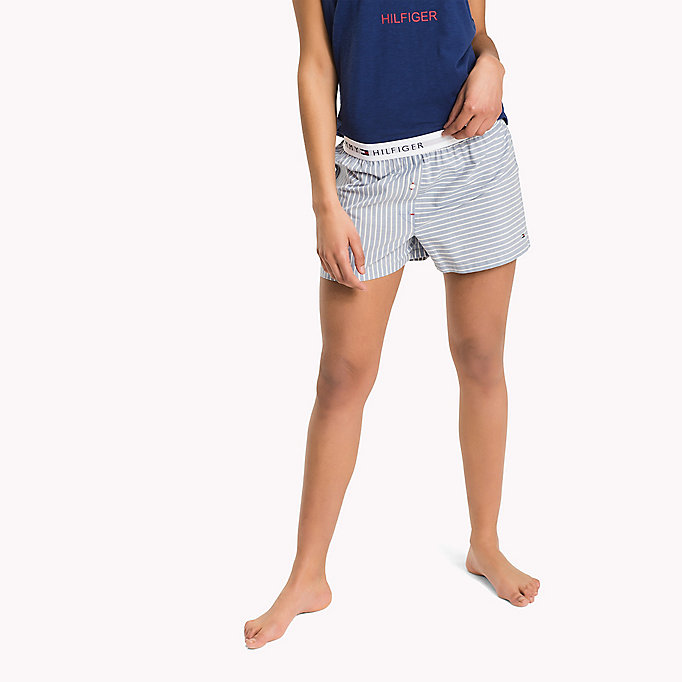 TOMMY HILFIGER WOVEN BOXER - RASPBERRY WINE - TOMMY HILFIGER Clothing - main image