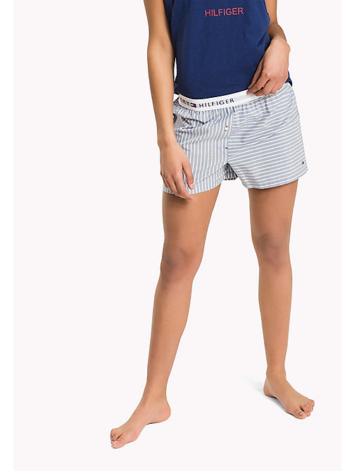 TOMMY HILFIGER WOVEN BOXER - INFINITY - TOMMY HILFIGER Lounge & Nightwear - main image