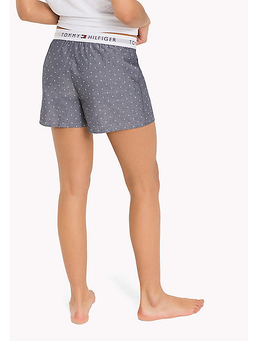 TOMMY HILFIGER WOVEN BOXER - NAVY BLAZER CHAMBRAY - TOMMY HILFIGER Lounge & Nightwear - detail image 1