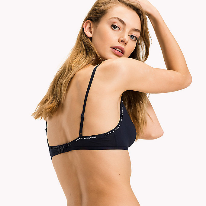TOMMY HILFIGER TRIANGLE BRA - GREY HEATHER - TOMMY HILFIGER Vêtements - image détaillée 2