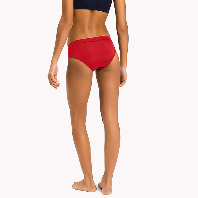 TOMMY HILFIGER Contrast Bikini Bottoms - BRIGHT MARIGOLD - PINK GLO - TOMMY HILFIGER Women - detail image 1