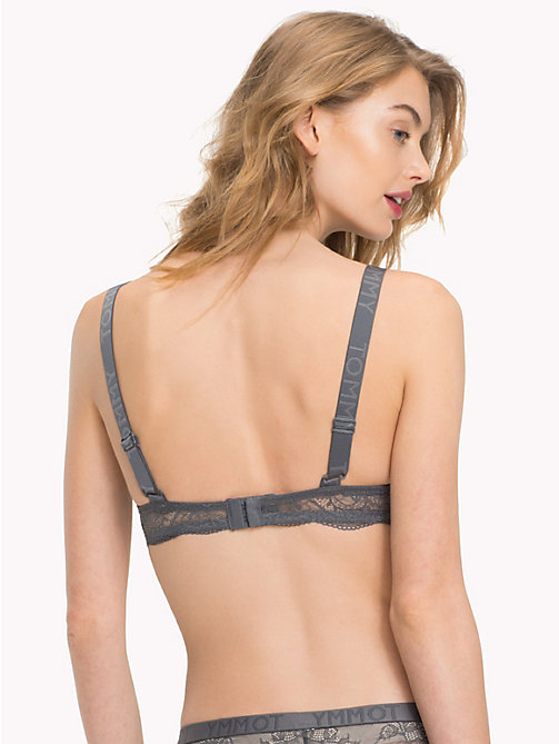 TOMMY HILFIGER Lace Push-Up Bra - IRON GATE - TOMMY HILFIGER Bras - detail image 1