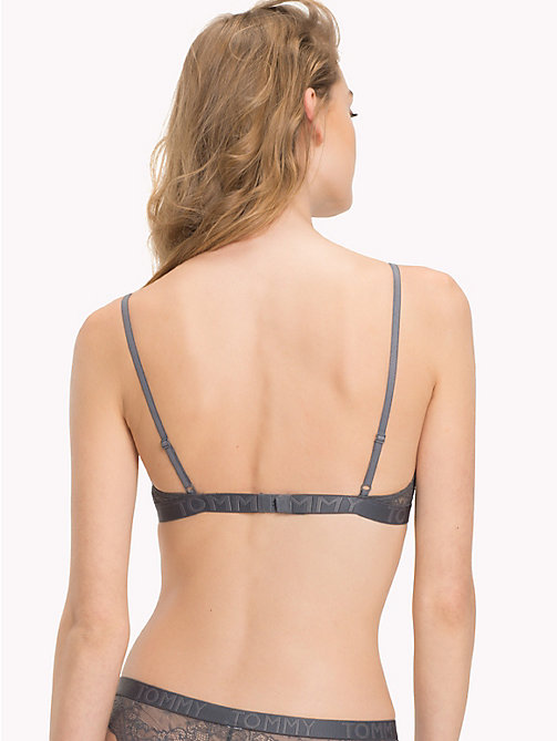 TOMMY HILFIGER Lace Triangle Bra - IRON GATE - TOMMY HILFIGER Bras - detail image 1