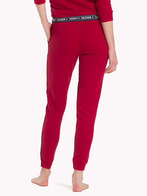 TOMMY HILFIGER Terry loungebroek - CHILI PEPPER - TOMMY HILFIGER Pyamabroeken - detail image 1
