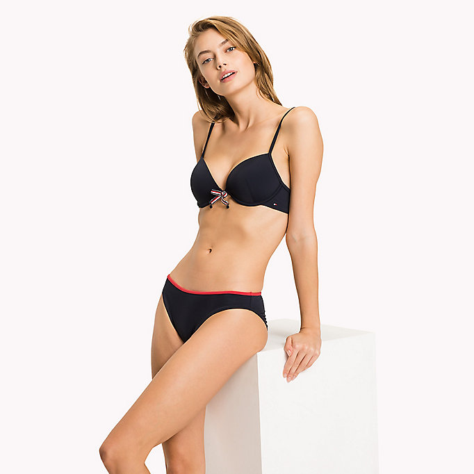 TOMMY HILFIGER Push Up Bikini Top - TANGO RED - TOMMY HILFIGER Women - detail image 2