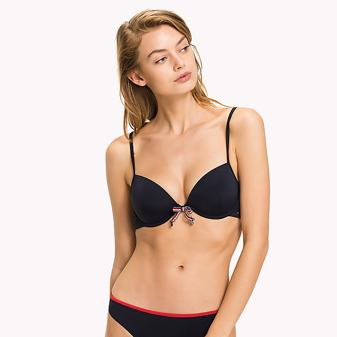 TOMMY HILFIGER Push Up Bikini Top - TANGO RED - TOMMY HILFIGER Women - main image