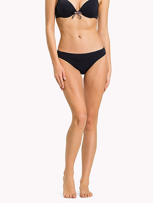 TOMMY HILFIGER Contrast Bikini Bottoms - NAVY BLAZER - TOMMY HILFIGER VACATION FOR HER - main image