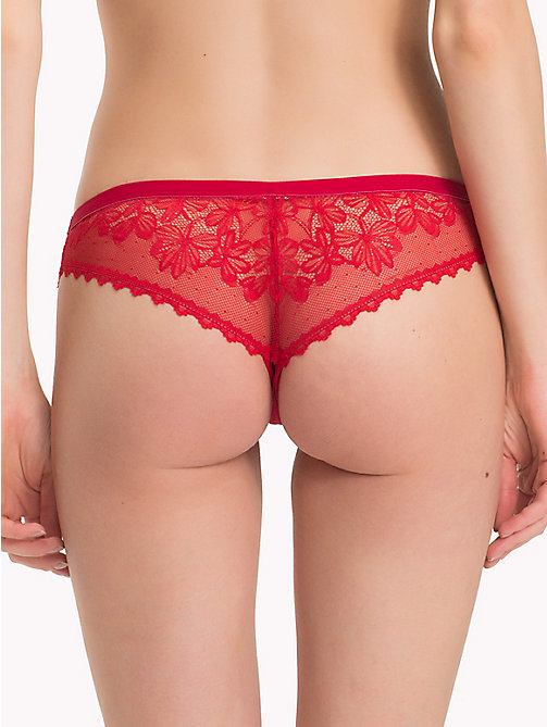 TOMMY HILFIGER Lace Brazilian Briefs - AMERICAN BEAUTY - TOMMY HILFIGER Briefs - detail image 1