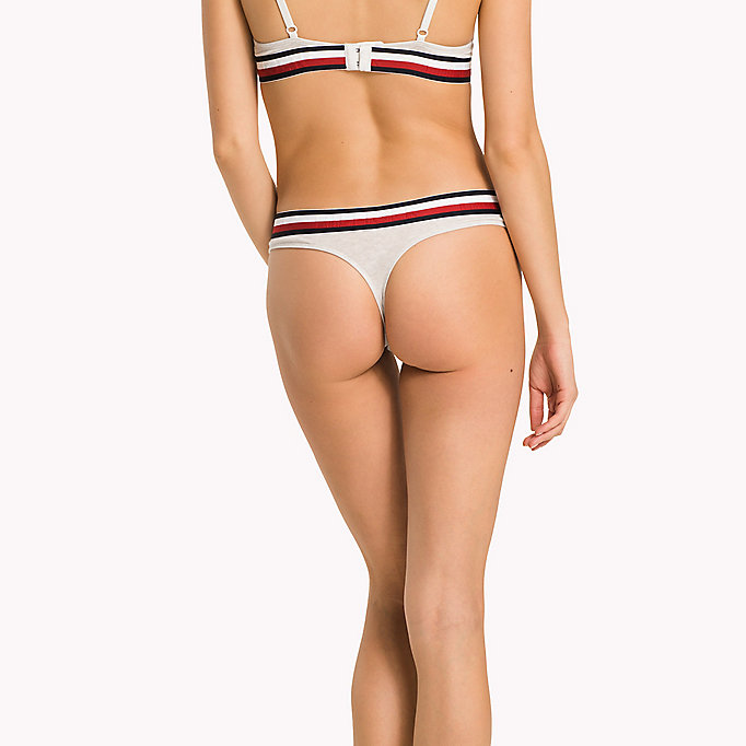 Tommy Hilfiger Eco Fresh Cotton Thong Clearance Outlet Locations Free Shipping Purchase Genuine Footlocker Pictures Cheap Online VD0oFx