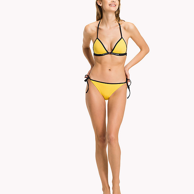 TOMMY HILFIGER String Side Tie Bikini Bottoms - NAVY BLAZER - TOMMY HILFIGER Women - main image