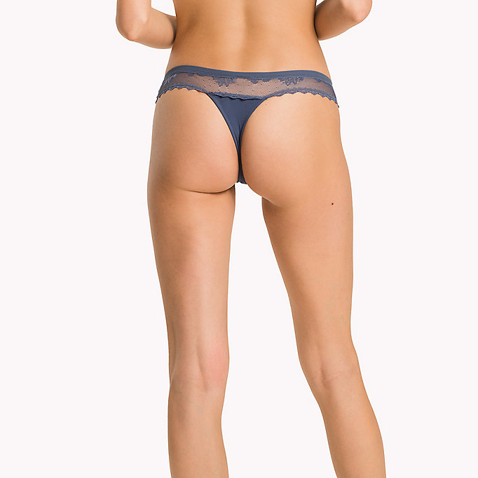 TOMMY HILFIGER Lace Thong - AMERICAN BEAUTY - TOMMY HILFIGER Women - detail image 1