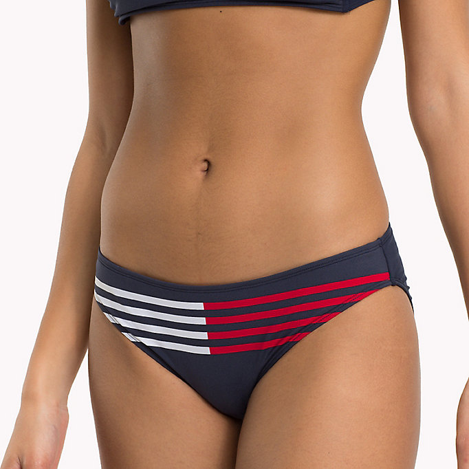 TOMMY HILFIGER Bikinibroekje met signature-streep - BRIGHT WHITE? 11-0601 - TOMMY HILFIGER Dames - detail image 2