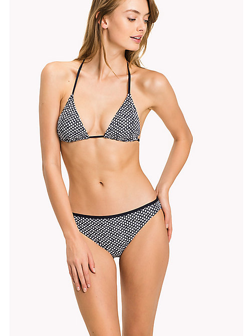 TOMMY HILFIGER Printed Triangle Bikini Top - MILLE FLEUR - TOMMY HILFIGER VACATION FOR HER - main image