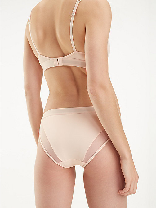 TOMMY HILFIGER Mesh Panel Briefs - PALE BLUSH - TOMMY HILFIGER Briefs - detail image 1