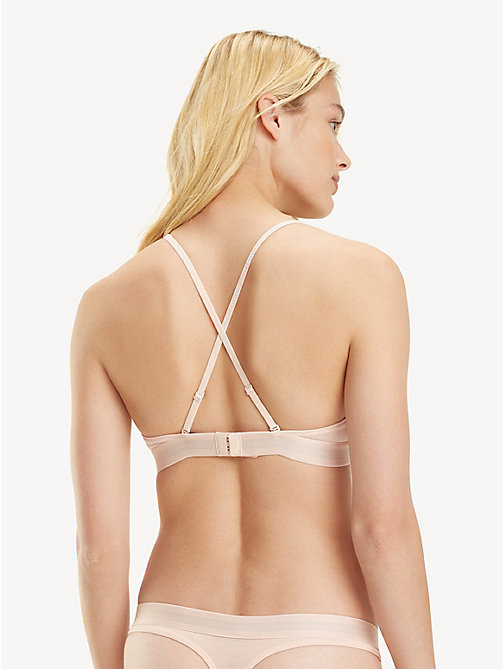 TOMMY HILFIGER Cross-Back Triangle Bra - PALE BLUSH - TOMMY HILFIGER Bras - detail image 1