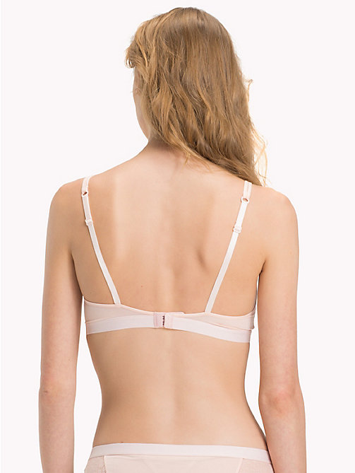 TOMMY HILFIGER Triangle Lace Bra - PALE PINK - TOMMY HILFIGER Lounge & Lingerie - detail image 1