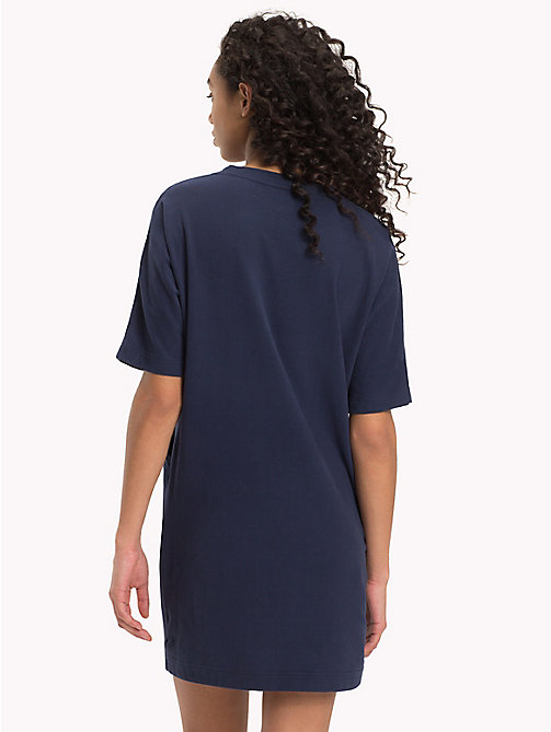 TOMMY HILFIGER Pocket T-shirt Dress - NAVY BLAZER - TOMMY HILFIGER Night Dresses & Bathrobes - detail image 1